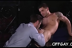 Office guys try some naughty anal sex together when alone
