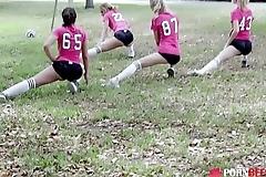 Aspen Celeste, Riley Star In Penalty Cum Shot