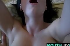 Dick stuffed Buxom girl Kai Marley