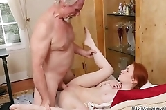 Old mother in law and amateur daddy anal sex Online Hook-up