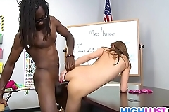 Pressley Carter Meets The Big Black Cock
