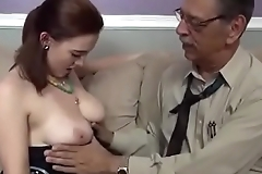 Grandpa cum inside horny granddaughter xincestporn.com