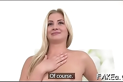 I bet u will not be able to forget that wild sex with fake agent