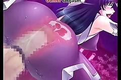 Taimanin Asagi CG Hentai Squirting Milf - GamerOrgasm.com
