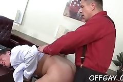 Office colleagues love a nice ass fuck on the leather couch