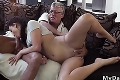 Daddy gives me big load What would you prefer - computer or your