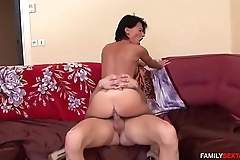 Therapists asks son fuck fuck the shit out of his step moms ass