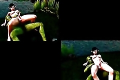 The elf sex slave &quot_Teaser&quot_ shemale hentai 3d animation