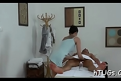 Dude pays to get taken care of by a hawt oriental masseuse