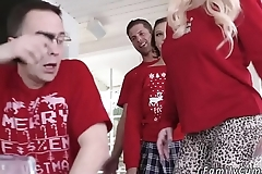 Teen girl fucks man with strapon first time Heathenous Family Holiday