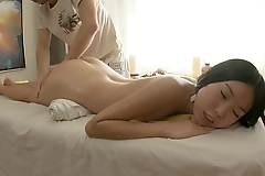 Asian Girl First Massage Session!