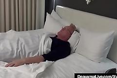 Busty Nurse Deauxma &amp_ Lawyer Taylor Ann Fuck Older Client!