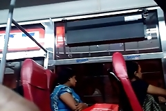 Show dick In bus