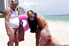 Old milf fucks young woman Staycation with a Latin Hottie