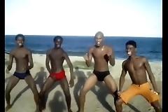 Favelados na praia