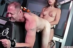 Abella Danger Punishes Sub Dude Hard