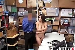 Shy Teen Jacker Gets Huge Cock