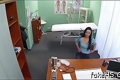 Find out that breathtaking fucking session in fake hospital