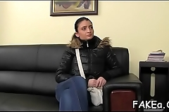 Fake agent gets punished truly hard by a thick pecker