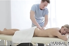 Moist and messy cunt of a girlie endures toying and licking