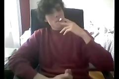 Nerd big cock jerk