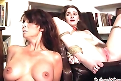 Mature beauty dominated by stepdaughters bf