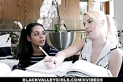 BlackValleyGirls - Ebony Teen With Nice Tits Gets Pussy Plowed