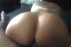 First Video! Brazilian Cougar Fat Ass Riding