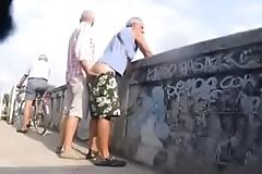 Trepada gay na rua