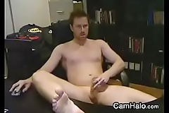 Quiet Amateur Gay Masturbating