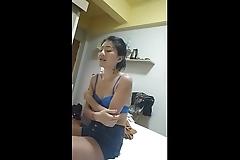 Thai whore in hotel room