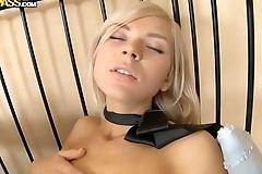 Stunning sex dolls have fun with dildos - IcePornHub.com