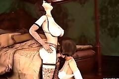 Elizabeth Chokes On Elizabeth'_s Cock (Bioshock)
