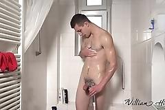 Hot twink in shower