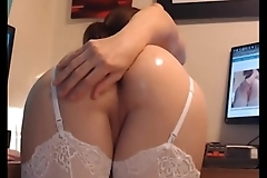 Shemale Angel In Stockings Demands Anal Sex