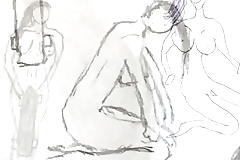 Some Nice naked pics drawed ms.x part.1
