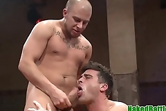 Wrestling hunk punished with cock in ass