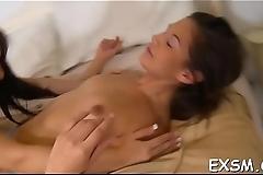 Agile partner pleases gorgeous slut in various positions